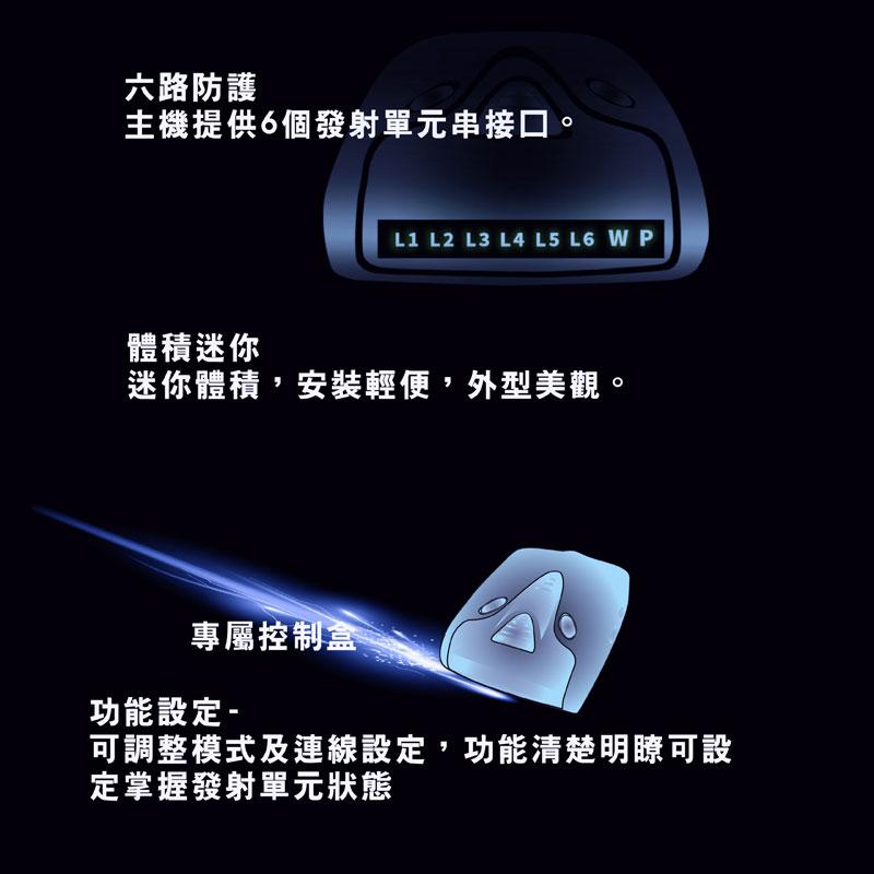 征服者 Ai9 雷射防護罩