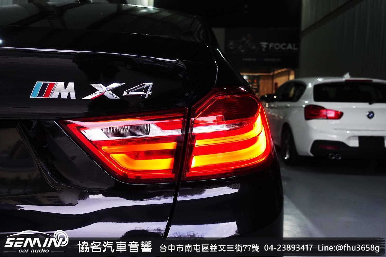 BMW X4 車主林先生換 ZEST AUDIO 喇叭