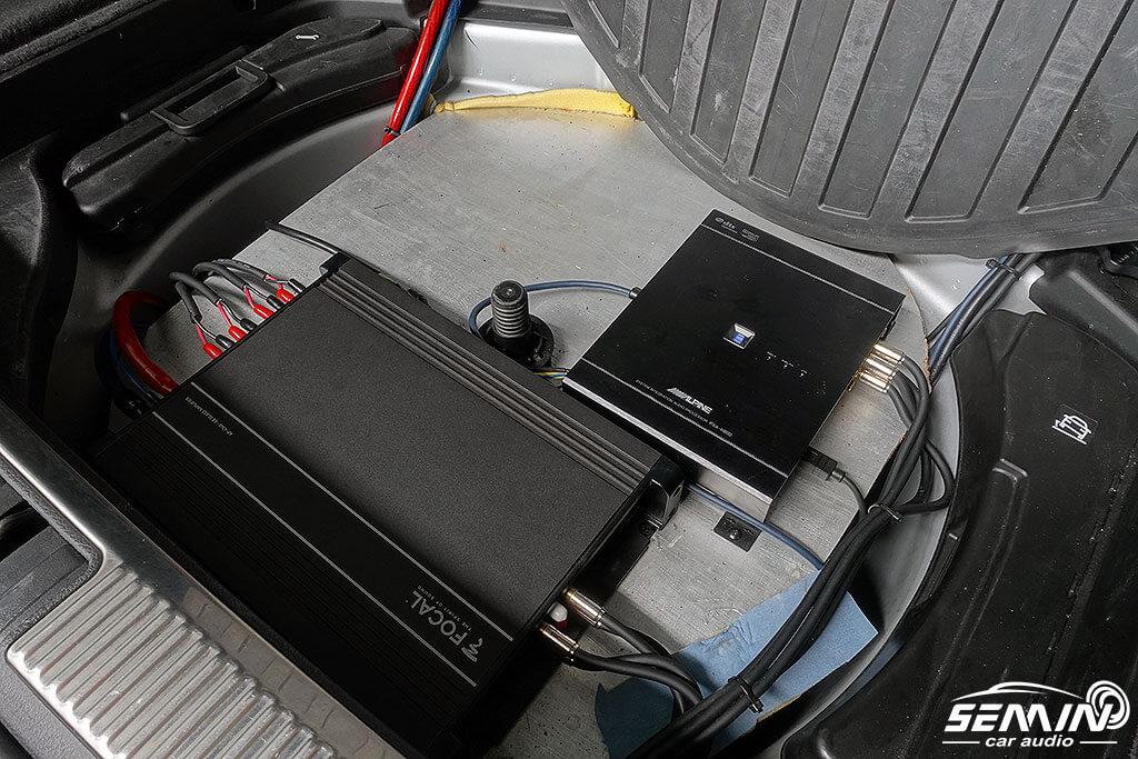 AUDI A4/B6 後場FOCAL音質升級