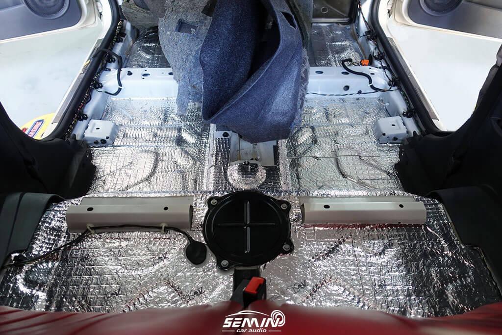 FIAT 提升音質 & 底盤加強 隔音制震