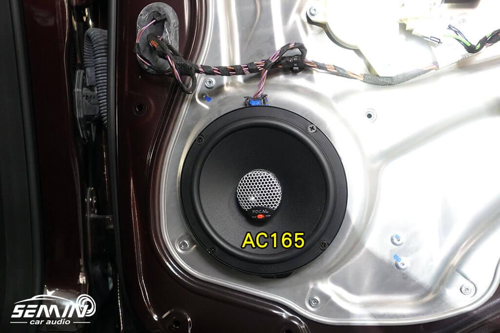 BENZ E200 W212 法國喇叭&德國來的擴大機