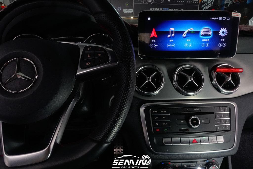 BENZ GLA 改裝安卓10.25吋大螢幕