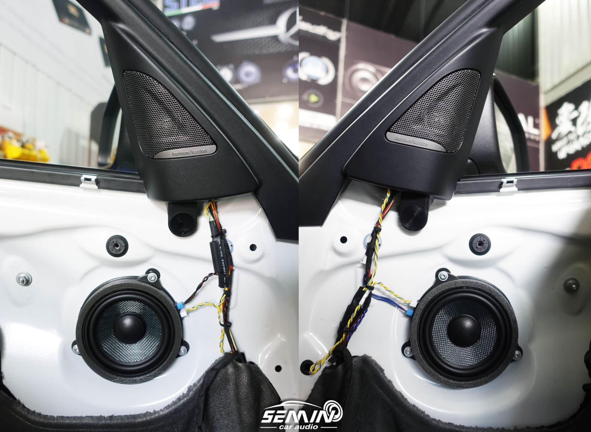 F30 無損升級 ZEST 專用喇叭+DSP擴大機