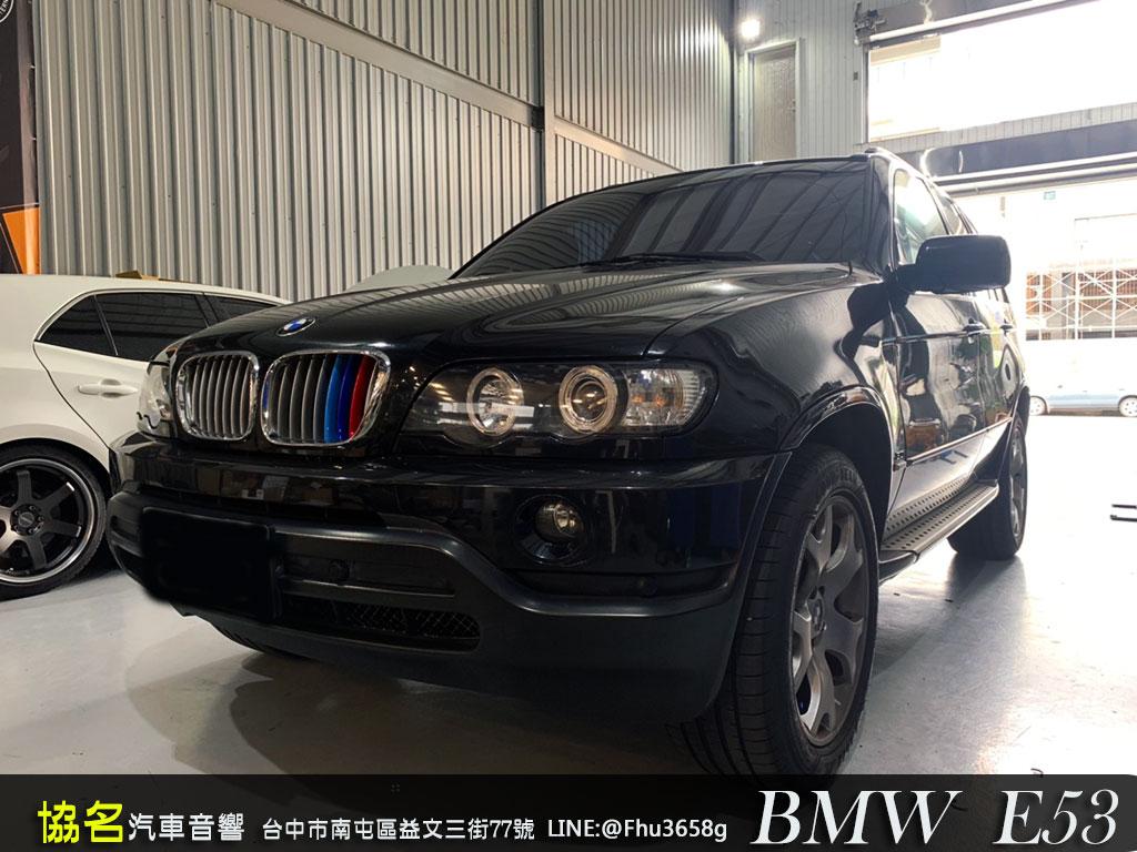 BMW X5(E53) 升級原廠擴大機