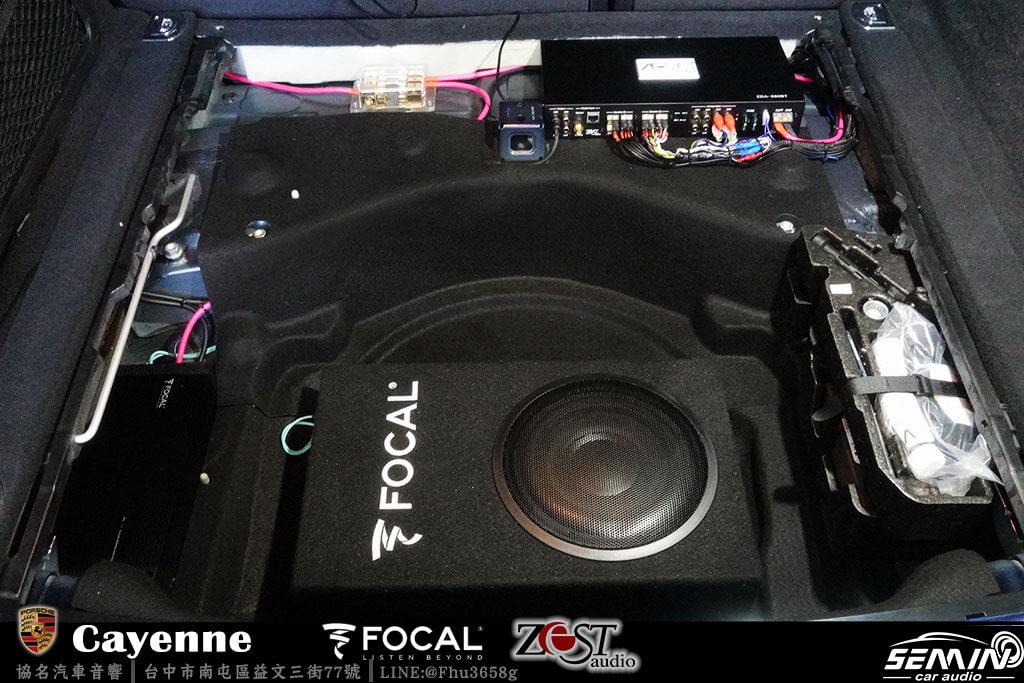 保時捷全車喇叭升級+FOCAL被動式重低音
