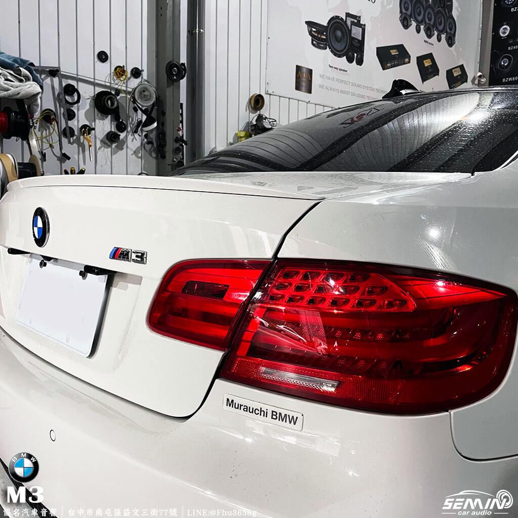 BMW M3 經典雙門加裝ARC DSP 擴大機