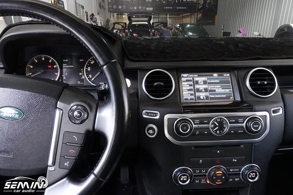 路華Land Rover D4 加裝導航系統