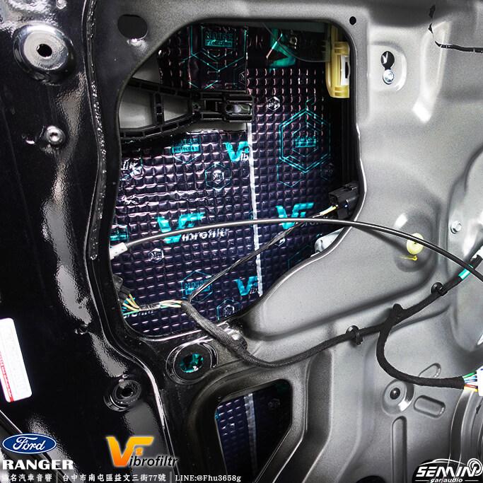 福特 RANGER 安裝DSP八聲道擴大機