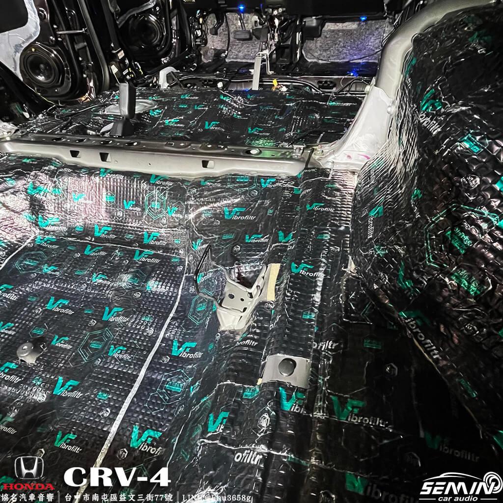 HONDA CR-V CRV4代 全車隔音工程